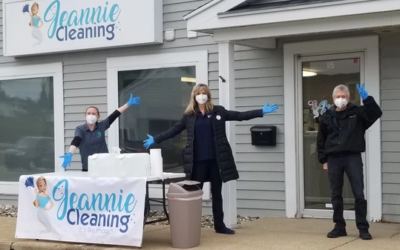 Jeannie Cleaning Gives Free Disinfectant