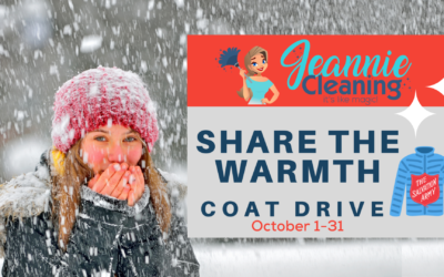 Jeannie Cleaning Supports Share The Warmth Coat Drive
